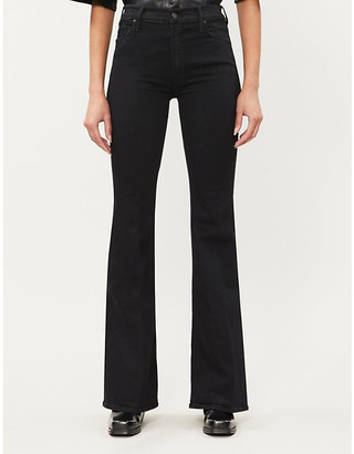 Mother The Doozy flared high-rise jeans