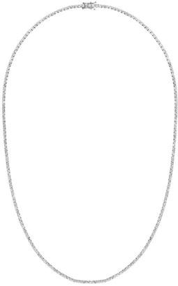777 18kt Black Gold Diamond Necklace