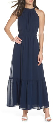 19 Cooper High Neck Maxi Dress