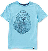 Lucky Brand Big Boys 8-20 Gentleman Bear Graphic Short-Sleeve Tee