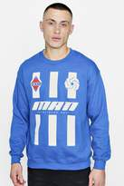 boohoo MAN Stripe Sweater