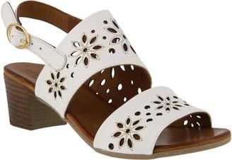 Spring Step Leather Slingback Sandals - Mandalay