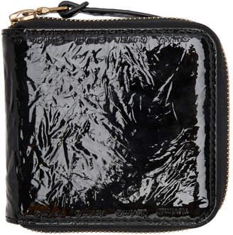 Visvim Black Folie Zip Wallet
