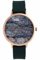 Pilgrim Forest-Green Patterned Watch