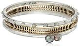 Lucky Brand Two Tone Bangle Bracelet