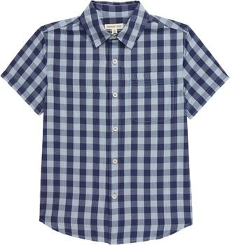 Tucker + Tate Printed Short Sleeve Button-Up Shirt