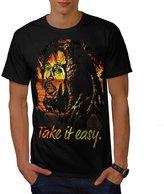 Take it Easy Marley Rasta Men XXXL T-shirt   Wellcoda