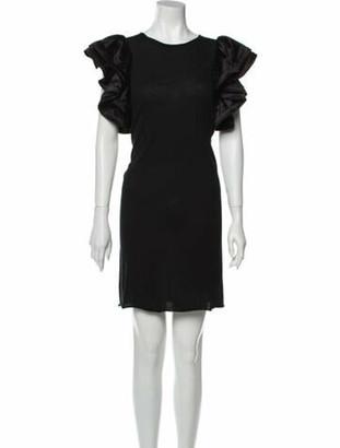 Lanvin 2008 Mini Dress Black