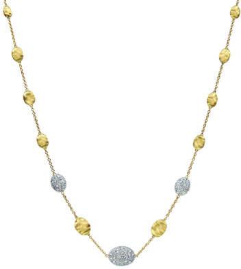"""Marco Bicego Siviglia Diamond Station Necklace, 18""""L"""