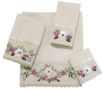 Avanti Linens Victoria Embroidered 4-Piece Decorative Towel Set
