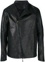 Masnada off-centre zip jacket