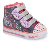 Skechers Toddler Girl's Shuffles Sneaker