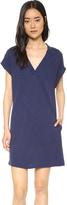 Lanston Cap Sleeve Pocket Dress