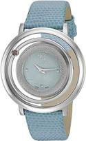 Versace Women's VQV020015 Venus Stainless Steel & Blue Watch