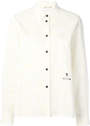 Alyx polka dot textured shirt