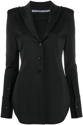 Alexander Wang Long Sleeve Fitted Jacket