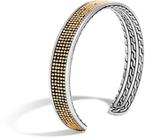 John Hardy Men's Chain Jawan 9MM Cuff in Sterling Silver and 18K Gold