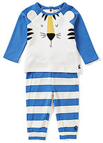 Joules Baby Boys Newborn-12 Months Mack Tiger Top & Striped Pants Set