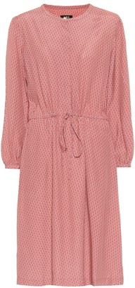 A.P.C. Isabella printed dress