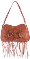 Valentino Fringe Leather Shoulder Bag