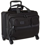 Tumi Apha 2 - 4 Wheeled Deluxe Brief with Laptop Case Luggage