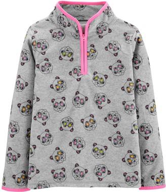 Osh Kosh Girls 4-14 Panda B'gosh Fleece Cozie