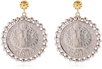 Tommaso Lonardo Moneta Coin Earrings