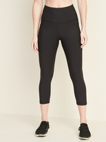 Old Navy High-Waisted Elevate Powersoft Side-Pocket Crop Leggings for Women