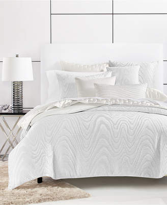 Hotel Collection Moire King Duvet Cover, Bedding