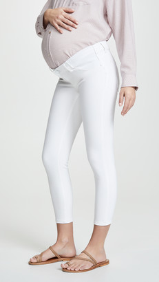 DL1961 Florence Cropped Skinny Maternity Jeans