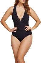 Plus Size Women's Robyn Lawley Ocean Plunge One-Piece Swimsuit