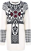 I'M Isola Marras oversized jacquard jumper
