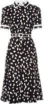 Altuzarra Ella polka-dot stretch-cady dress