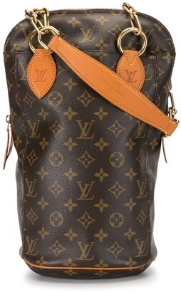 Louis Vuitton x Karl Lagerfeld 2014 monogram print shoulder bag