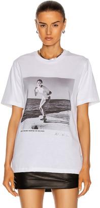 Wolford x Helmut Newton T-Shirt in Stone Grey | FWRD