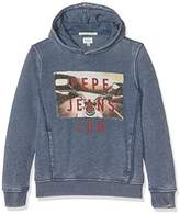 Pepe Jeans Boy's Sheldon Jr Hoodie,10 Years