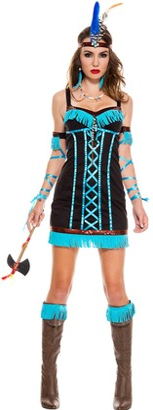 Music Legs Women's Native Princess