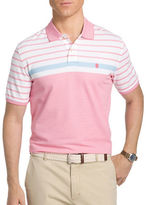 Izod Advantage Striped Polo