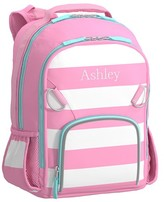 Pottery Barn Kids Small Backpack, Fairfax Pink/White Stripe