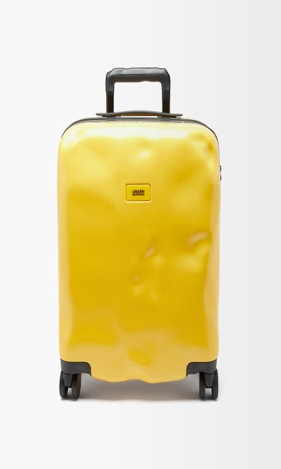 CRASH BAGGAGE Icon 55cm Cabin Suitcase - Yellow