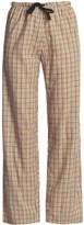 Nina Capri Cotton Lounge Pants - Drawstring (For Women)