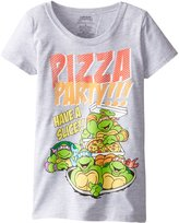 Freeze Little Girls' TMNT Pizza Party Short Sleeve Tee
