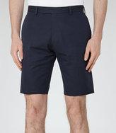 Reiss Montgomery Twill Cotton Shorts