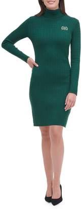 Tommy Hilfiger Turtleneck Crest Sweater Dress