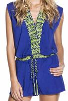 OndadeMar Embroidered Playsuit