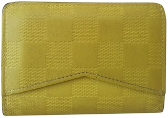 Louis Vuitton Pocket Organizer Yellow Cloth Small bags, wallets & cases