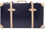 Kingsman - Globe-Trotter 30 Pinstripe-Lined Wheeled Suitcase
