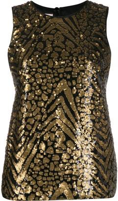 Antonio Marras sleeveless sequinned top