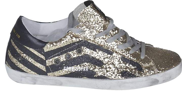 Golden Goose Glittered Low-cut Sneakers