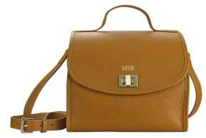GiGi New York Amelie Personalized Leather Crossbody Bag